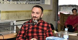 Yazar Serkan Türk, Gümüşhane'de söyleşi ve imza gününe katıldı