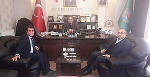 AFAD ve ASÜ'den Başkan Koçak'a ziyaret