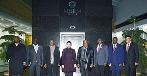 Afrika Büyükelçilerinden Başkan Toru'ya ziyaret