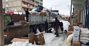 Ahlat'tan Halep halkına yardım