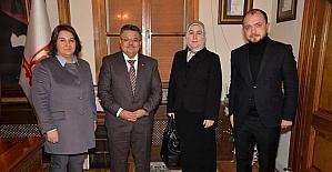 AK Parti Genel Merkezi'nden Başkan Yağcı'ya ziyaret