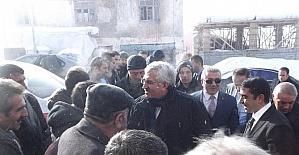 AK Parti İl Başkanı Öz, Tekman'da ziyaretlerde bulundu