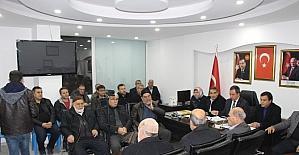 AK Parti Kahta ilçe teşkilatı meclis faaliyetlerini değerlendirdi