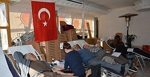 AK Parti Korkuteli ilçe Teşkilatından Kan Bağışı