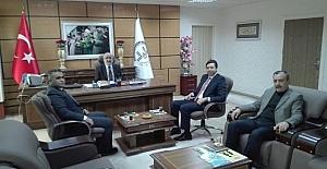 AK Parti Teşkilatından İl Müftüsüne ziyaret