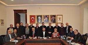 AK Parti Trabzon Seçim İşleri Başkanlar Toplantısı yapıldı.