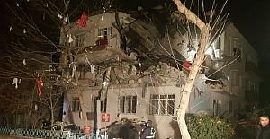 Ankara'da korkunç doğalgaz patlaması