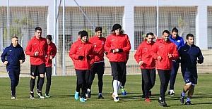 Antalyaspor, Osmanlıspor maçının hazırlıklarını sürdürüyor
