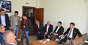 Arslan Tatar'dan TÜGVA'ya ziyaret