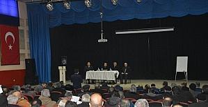 Aşkale'de gündem toplantısı düzenlendi