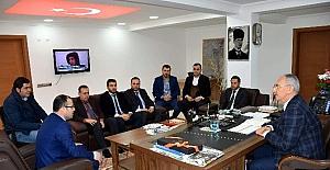 AY-SİAD'tan Başkan Kale'ye ziyaret