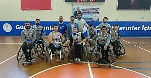 Aydın Engelli Basketbol Takımı sezonun ilk yarısını galibiyetle kapadı