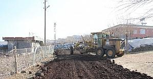 Bağlar'ın Sarıdalı Mahallesi'nde yol çalışması
