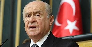 Bahçeli'den CHP'ye 'millet iradesi' eleştirisi