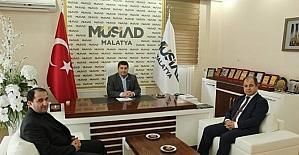 Baro Başkanı Han, MÜSİAD'ı ziyaret etti