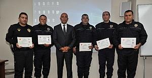 Başarılı emniyet personellerine ödül