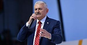 Başbakan Yıldırım'dan parti grubuna teşekkür konuşması