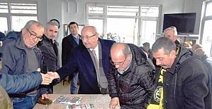 Başkan Albayrak Kazandere mahallesinde vatandaşlarla buluştu