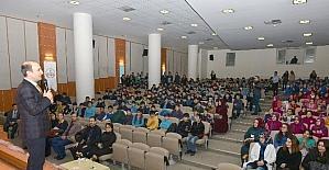 Başkan Edebali öğrencilere enerji tasarrufunu anlattı