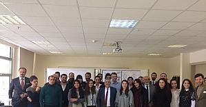 Başkan Karaaslan, Atılım Üniversitesi Mimarlık Fakültesi öğrencileri ile buluştu