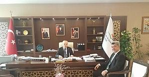 Başkan Yiğit'ten Çevre Bakanlığı'na ziyaret