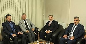 Başkanı Polat Türkiye Gazetesini ziyaret etti