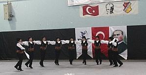 Bayburt'ta halk oyunları il birinciliği yapıldı