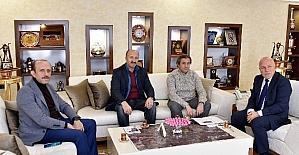 Beyoğlu ve Sultangazi Belediye Başkanları Başkan Sekmen'i ziyaret etti