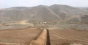 Boztepe Recai Kutan barajı sulaması yüzde 67 seviyesine ulaştı