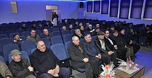 Bozüyük'te çiftçilere zirai ilaçlama semineri verildi