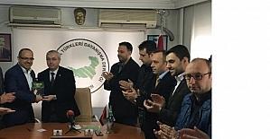 BTTDD Bursa'da bayrağı Dr. Eminlatif devraldı