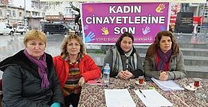 Burhaniye'de kadınlar 600 imza topladı