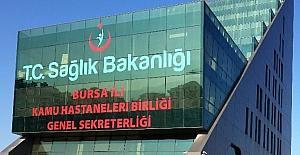 Bursa'da 2016 yılında 12,5 milyon kişi muayene oldu