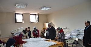 Büyükşehir Belediyesi Semt Konakları Halep için çalışıyor