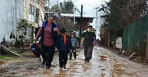 Çamur deryasına dönen Ayrancılar'da İZSU isyanı