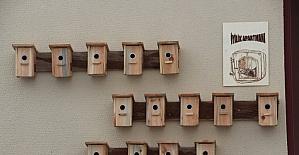 Çankırı'da Kuşlar İçin İyilik Apartmanı
