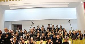Çankırılı Çocuklar Halep Halkı İçin Sahnede