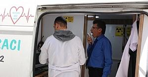 Ceylanpınar Belediyesi personeli sağlık taramasından geçti