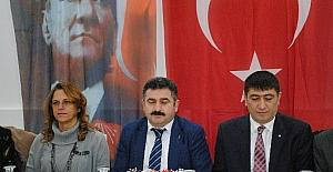 CHP Çorum teşkilatları gazetecilerle biraraya geldi