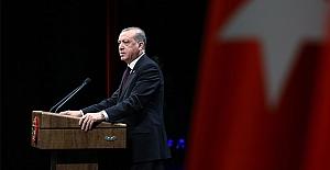 Erdoğan: Hep birlikte yerle yeksan edeceğiz