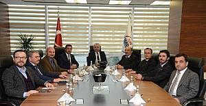 Denizli Ticaret Odasından, Eximbank Genel Müdürüne ziyaret