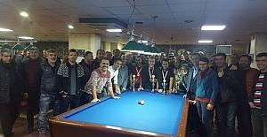 Diyarbakır'da bilardo müsabakaları sona erdi