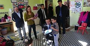 Doğanşehir de 7 bin 800 öğrenci karne aldı