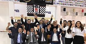 Domotex'te Gaziantep ve Beşiktaş Rüzgarı