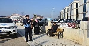 Düzce'de hastane çevresinde seyyara izin yok