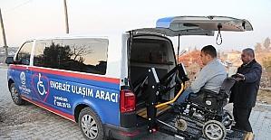 Engelli Burak'tan Başkan Zolan'a teşekkür