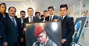 Erciş'te resim sergisi