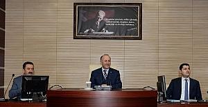 Erzurum'da 2017 yılı 1. Koordinasyon toplantısı yapıldı
