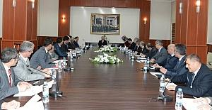 Erzurum'da İstihdam ve Mesleki Eğitim toplantısı yapıldı