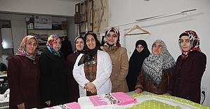 Ev hanımları, ev ekonomisine katkı sağlıyor